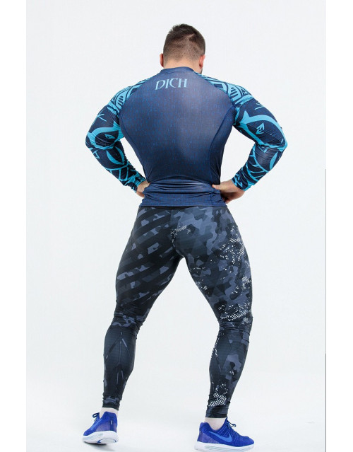 "Рашгард мужской : Rashguard ""Warrior Spirit"""