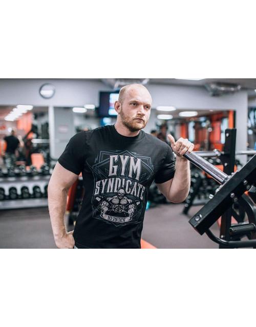 "Футболка DICH: Classic T-Shirt Black ""Gym Syndicate"""