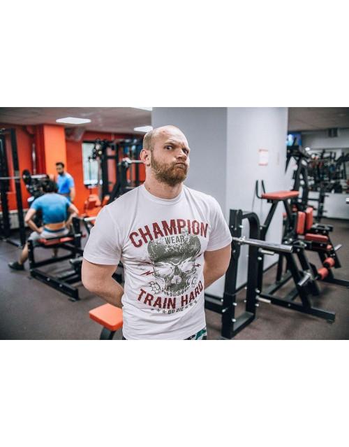 "Футболка DICH: Classic T-Shirt White ""Champion"""