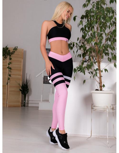 """Лосины Bona Fide: Bona Beauty OMG """"Pale Pink"""""""