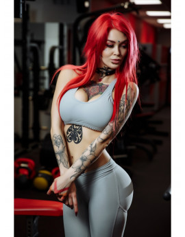 "MUSCLETOP ""LIGHT GRAY"""