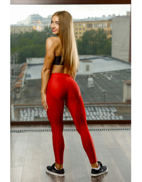 "OY - VSYO LEGGINS ""RED"""